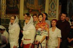 Фоторепортаж из Свято-Троицкого Ионинского монастыря о праздновании Светлого праздника Пасхи 271