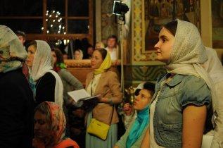 Фоторепортаж из Свято-Троицкого Ионинского монастыря о праздновании Светлого праздника Пасхи 278