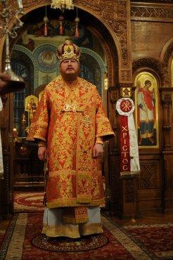 Фоторепортаж из Свято-Троицкого Ионинского монастыря о праздновании Светлого праздника Пасхи 283