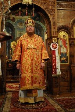 Фоторепортаж из Свято-Троицкого Ионинского монастыря о праздновании Светлого праздника Пасхи 285