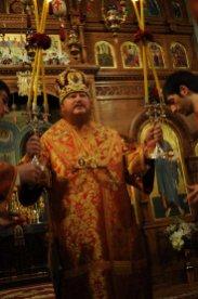 Фоторепортаж из Свято-Троицкого Ионинского монастыря о праздновании Светлого праздника Пасхи 293