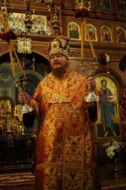 Фоторепортаж из Свято-Троицкого Ионинского монастыря о праздновании Светлого праздника Пасхи 306