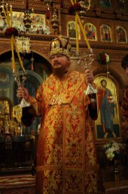 Фоторепортаж из Свято-Троицкого Ионинского монастыря о праздновании Светлого праздника Пасхи 308