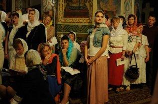 Фоторепортаж из Свято-Троицкого Ионинского монастыря о праздновании Светлого праздника Пасхи 320