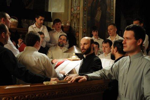 Фоторепортаж из Свято-Троицкого Ионинского монастыря о праздновании Светлого праздника Пасхи 329