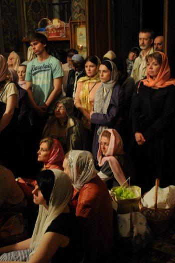 Фоторепортаж из Свято-Троицкого Ионинского монастыря о праздновании Светлого праздника Пасхи 340