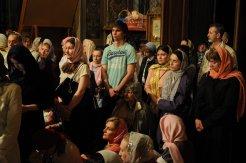 Фоторепортаж из Свято-Троицкого Ионинского монастыря о праздновании Светлого праздника Пасхи 345