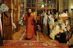 Фоторепортаж из Свято-Троицкого Ионинского монастыря о праздновании Светлого праздника Пасхи 346