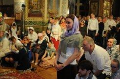 Фоторепортаж из Свято-Троицкого Ионинского монастыря о праздновании Светлого праздника Пасхи 358