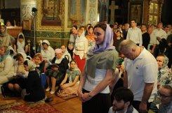 Фоторепортаж из Свято-Троицкого Ионинского монастыря о праздновании Светлого праздника Пасхи 360