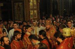 Фоторепортаж из Свято-Троицкого Ионинского монастыря о праздновании Светлого праздника Пасхи 379