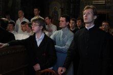 Фоторепортаж из Свято-Троицкого Ионинского монастыря о праздновании Светлого праздника Пасхи 386