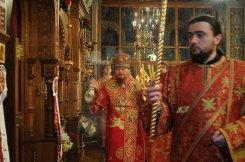 Фоторепортаж из Свято-Троицкого Ионинского монастыря о праздновании Светлого праздника Пасхи 392
