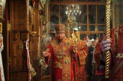 Фоторепортаж из Свято-Троицкого Ионинского монастыря о праздновании Светлого праздника Пасхи 395