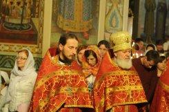 Фоторепортаж из Свято-Троицкого Ионинского монастыря о праздновании Светлого праздника Пасхи 425