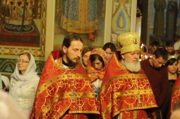 Фоторепортаж из Свято-Троицкого Ионинского монастыря о праздновании Светлого праздника Пасхи 427