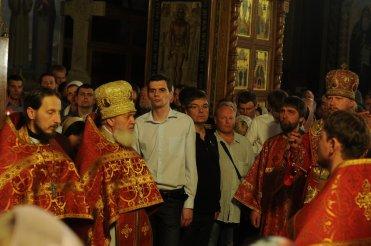 Фоторепортаж из Свято-Троицкого Ионинского монастыря о праздновании Светлого праздника Пасхи 428