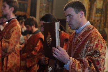 Фоторепортаж из Свято-Троицкого Ионинского монастыря о праздновании Светлого праздника Пасхи 439
