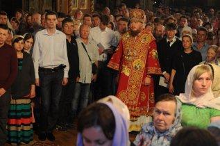 Фоторепортаж из Свято-Троицкого Ионинского монастыря о праздновании Светлого праздника Пасхи 441