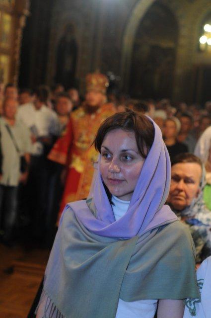 Фоторепортаж из Свято-Троицкого Ионинского монастыря о праздновании Светлого праздника Пасхи 443