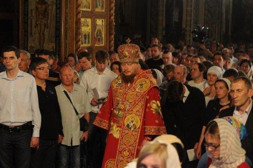Фоторепортаж из Свято-Троицкого Ионинского монастыря о праздновании Светлого праздника Пасхи 446