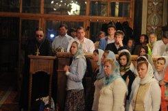 Фоторепортаж из Свято-Троицкого Ионинского монастыря о праздновании Светлого праздника Пасхи 447