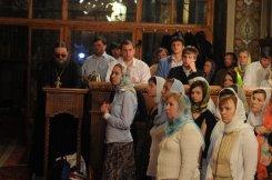 Фоторепортаж из Свято-Троицкого Ионинского монастыря о праздновании Светлого праздника Пасхи 448