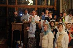 Фоторепортаж из Свято-Троицкого Ионинского монастыря о праздновании Светлого праздника Пасхи 449
