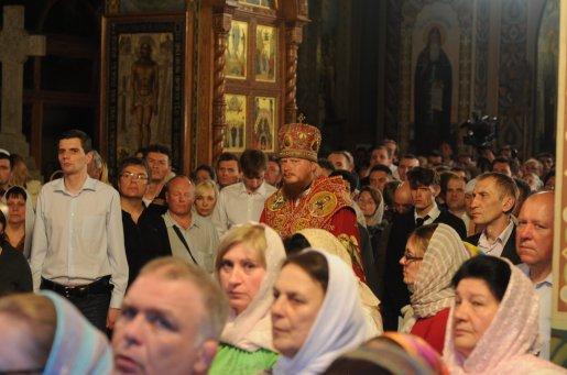 Фоторепортаж из Свято-Троицкого Ионинского монастыря о праздновании Светлого праздника Пасхи 455