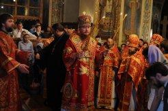 Фоторепортаж из Свято-Троицкого Ионинского монастыря о праздновании Светлого праздника Пасхи 473