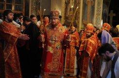 Фоторепортаж из Свято-Троицкого Ионинского монастыря о праздновании Светлого праздника Пасхи 474