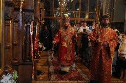 Фоторепортаж из Свято-Троицкого Ионинского монастыря о праздновании Светлого праздника Пасхи 482