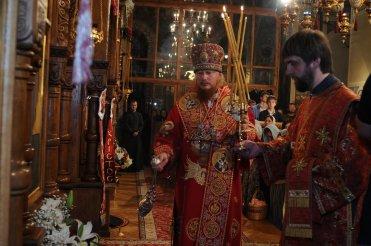 Фоторепортаж из Свято-Троицкого Ионинского монастыря о праздновании Светлого праздника Пасхи 488
