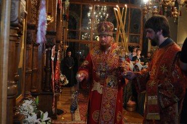 Фоторепортаж из Свято-Троицкого Ионинского монастыря о праздновании Светлого праздника Пасхи 489