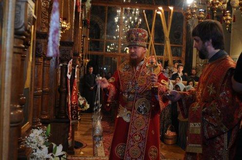 Фоторепортаж из Свято-Троицкого Ионинского монастыря о праздновании Светлого праздника Пасхи 490