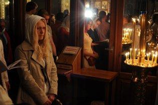 Фоторепортаж из Свято-Троицкого Ионинского монастыря о праздновании Светлого праздника Пасхи 506