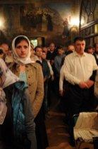 Фоторепортаж из Свято-Троицкого Ионинского монастыря о праздновании Светлого праздника Пасхи 508
