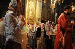 Фоторепортаж из Свято-Троицкого Ионинского монастыря о праздновании Светлого праздника Пасхи 511