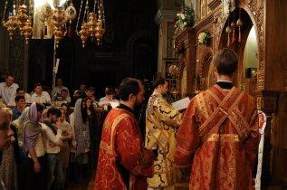 Фоторепортаж из Свято-Троицкого Ионинского монастыря о праздновании Светлого праздника Пасхи 517