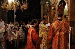 Фоторепортаж из Свято-Троицкого Ионинского монастыря о праздновании Светлого праздника Пасхи 519