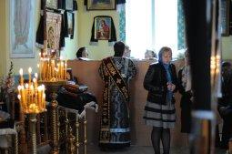 Фоторепортаж. Первое мая в сельском храме села Сукачи 9