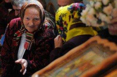 Фоторепортаж. Первое мая в сельском храме села Сукачи 11