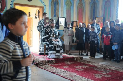 Фоторепортаж. Первое мая в сельском храме села Сукачи 42
