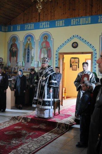 Фоторепортаж. Первое мая в сельском храме села Сукачи 43