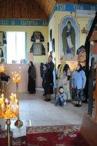 Фоторепортаж. Первое мая в сельском храме села Сукачи 45