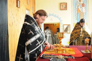Фоторепортаж. Первое мая в сельском храме села Сукачи 94
