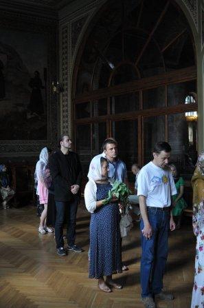 Святая Троица. Фотографии праздничного богослужения из Свято-Троицкого Ионинского монастыря.2013 год. 7