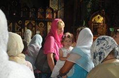Святая Троица. Фотографии праздничного богослужения из Свято-Троицкого Ионинского монастыря.2013 год. 117