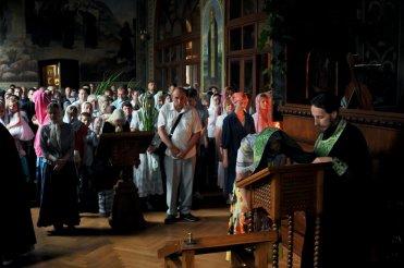 Святая Троица. Фотографии праздничного богослужения из Свято-Троицкого Ионинского монастыря.2013 год. 121