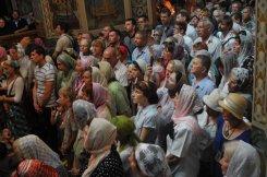 Святая Троица. Фотографии праздничного богослужения из Свято-Троицкого Ионинского монастыря.2013 год. 172
